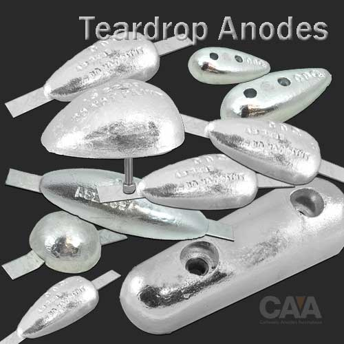 Tear Drop Anodes